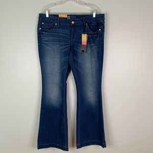 Mossimo Jeans 16 Flare Low Waist & Curvy Hip
